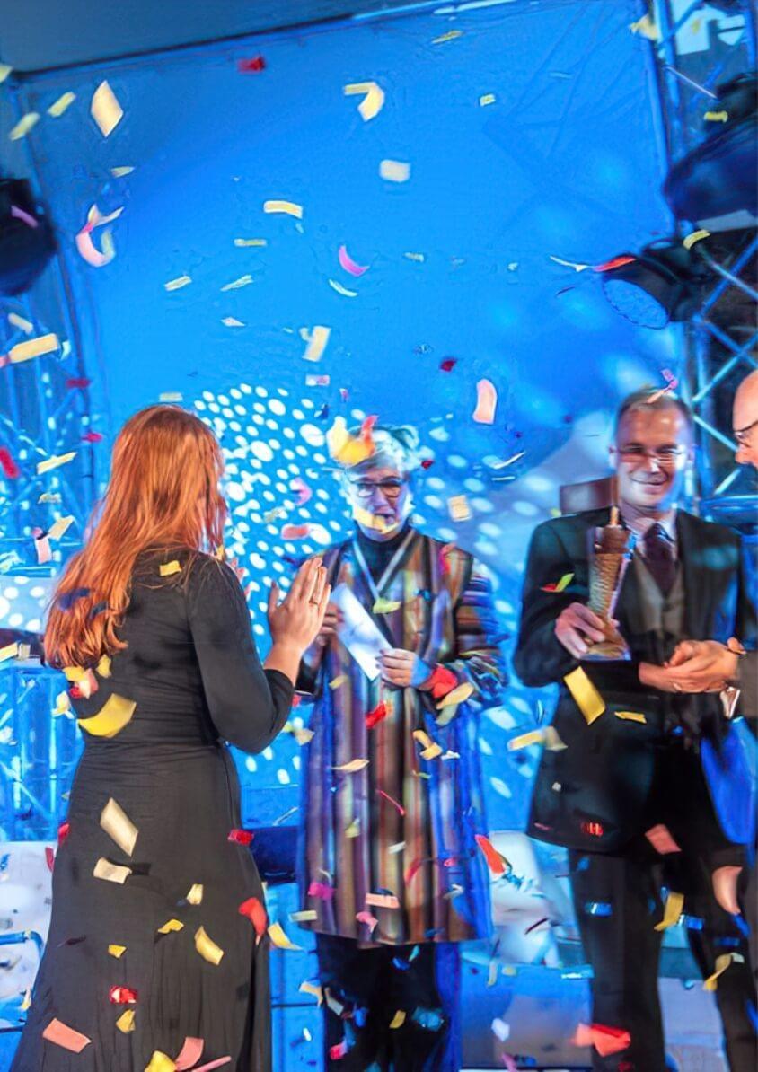 Photo of the winning award ceremony